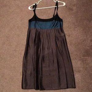 BCBGMaxAzria gunmetal dress